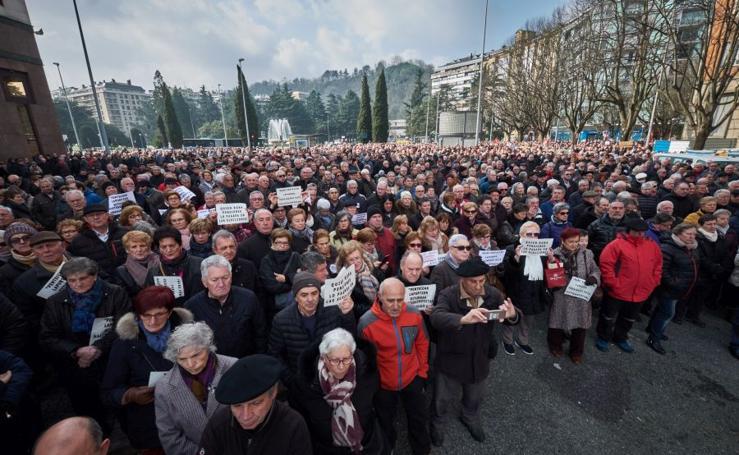 Marcha por unas pensiones dignas