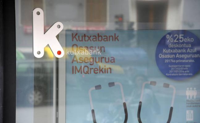 Kutxabank cambia a sus directores territoriales de Alava, Bizkaia y Gipuzkoa