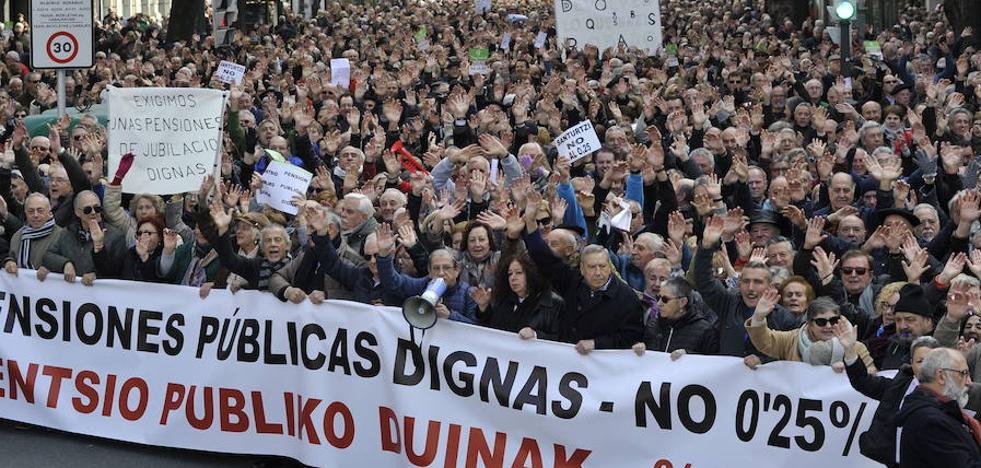 El PSOE condiciona un pacto sobre pensiones a que suban, al menos, igual que la inflación