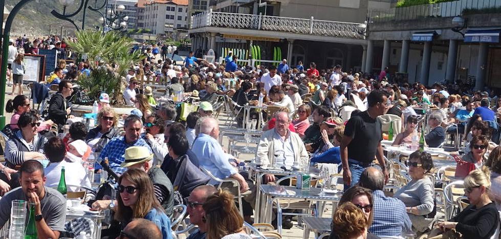 El gasto turístico en Euskadi creció un 4,4% en 2016 y llegó al 6,1% del PIB