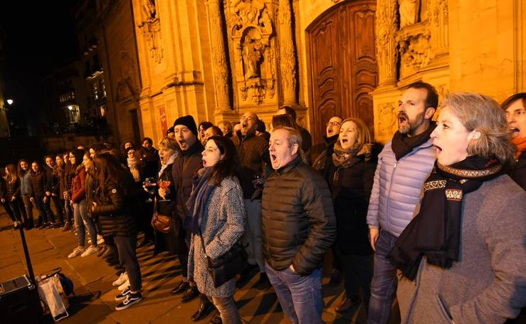 Donostia vibra con la música de 'La Bohème'