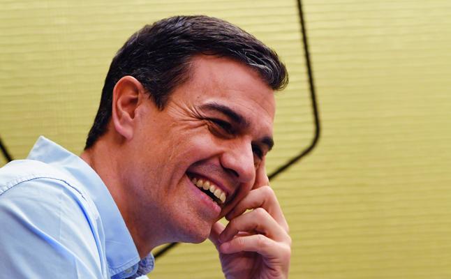 Pedro Sánchez (Secretario general del PSOE): «Nunca apoyaremos en el Congreso una reforma del Estatuto con derecho a decidir»