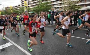 El medio maratón de Irun, mañana con más de 900 corredores