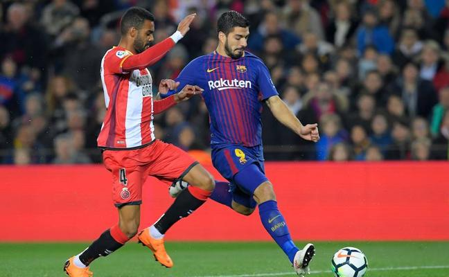 Luis Suárez empata para el Barça