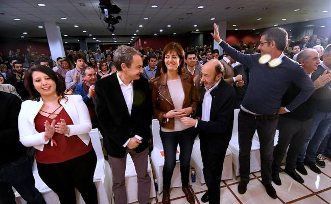 Zapatero afirma en Donostia que «nunca ha estado mejor Euskadi que sin ETA y en paz con España»