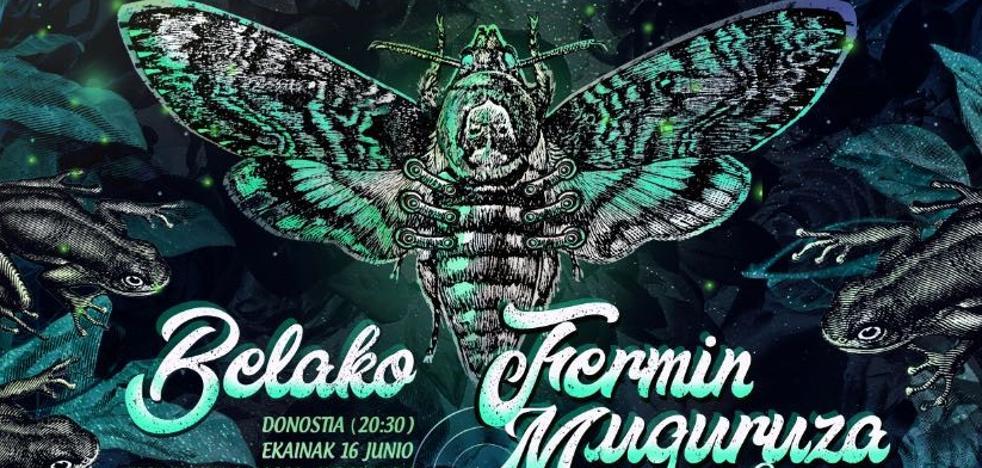 Belako y Fermin Muguruza ofrecerán un concierto conjunto en Donostia