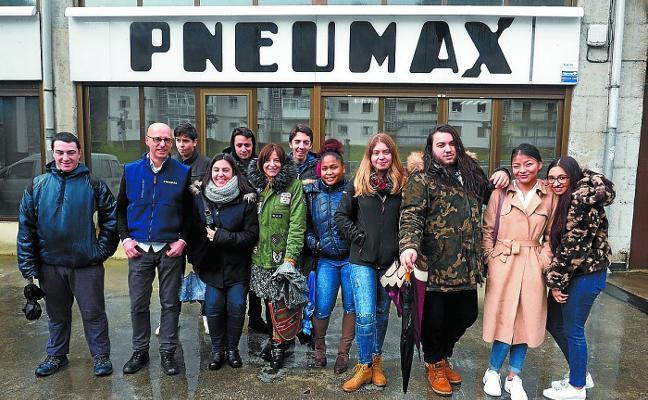 Pneumax apoya a los alumnos de Elizaran Ikastetxea en STARTinnova