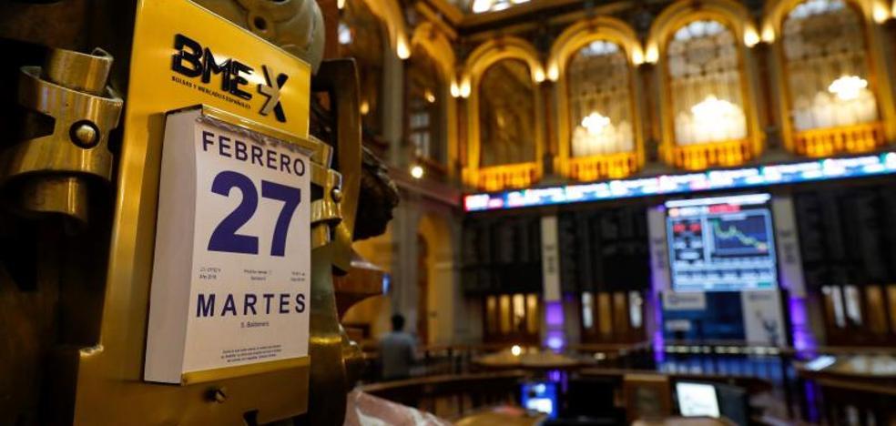 El Ibex-35 mantiene 'in extremis' los 9.900 puntos