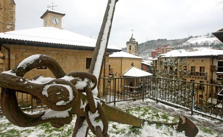 Nieve en Lezo