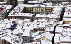 Tolosa vivió la nevada más importante del invierno