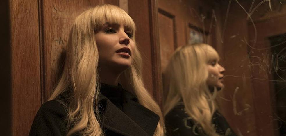 'Gorrión rojo', Lawrence en un violento thriller de acción