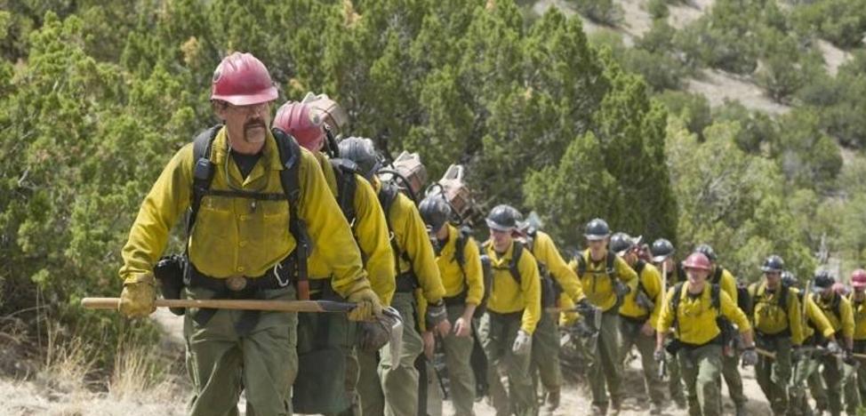 'Héroes en el infierno', todos contra el fuego