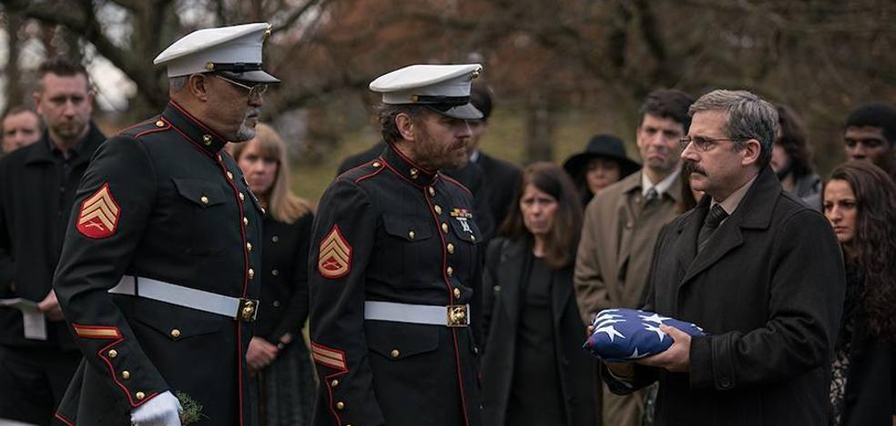 'La última bandera', tres amigos, un muerto y un país