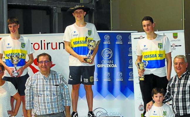 Nikolas Illarramendi, campeón de Gipuzkoa júnior de natación