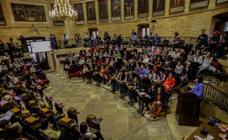 Las políticas vascas alzan la voz por la igualdad