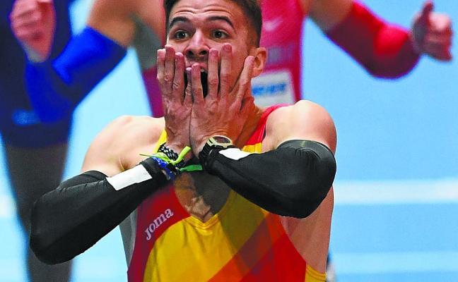 Óscar Husillos, descalificado tras ganar el oro