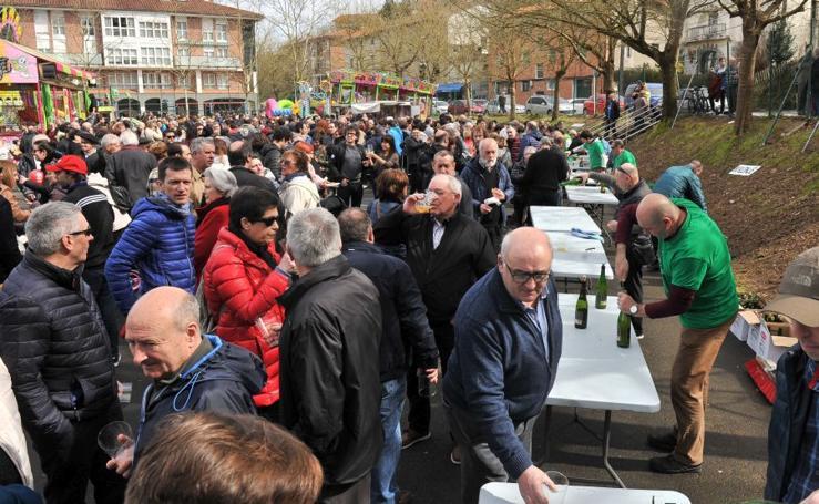 Ibaieta celebra sus fiestas