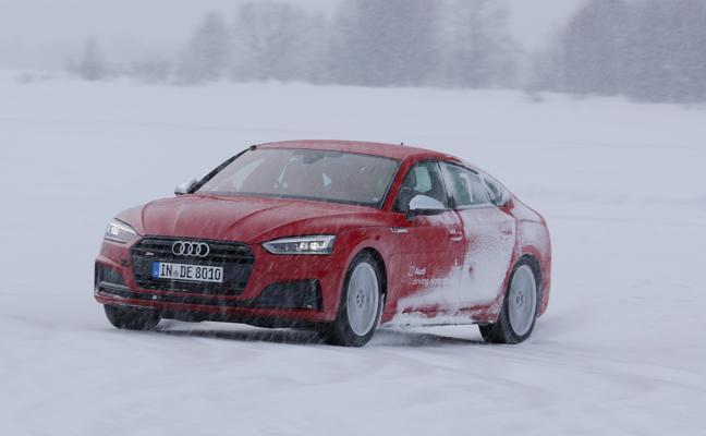 'Audi ice experience', aprender a conducir sobre nieve