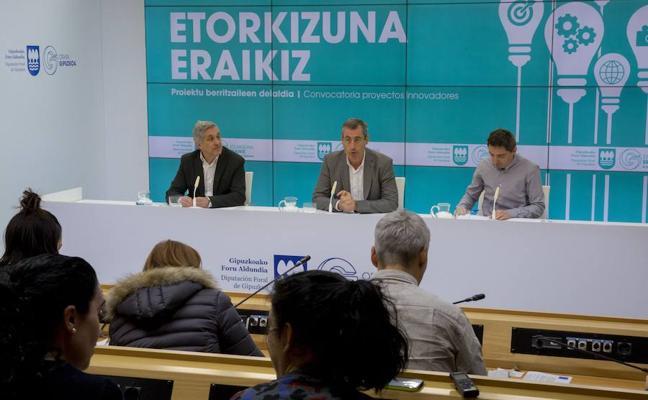 Etorkizuna Eraikiz abre una nueva línea de actuación para combatir la exclusión social