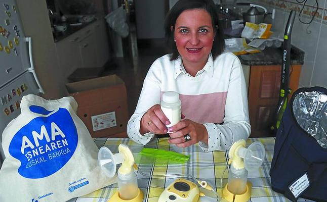 Eva Fuertes: «Ser donante de leche materna requiere una dedicación, pero recompensa»