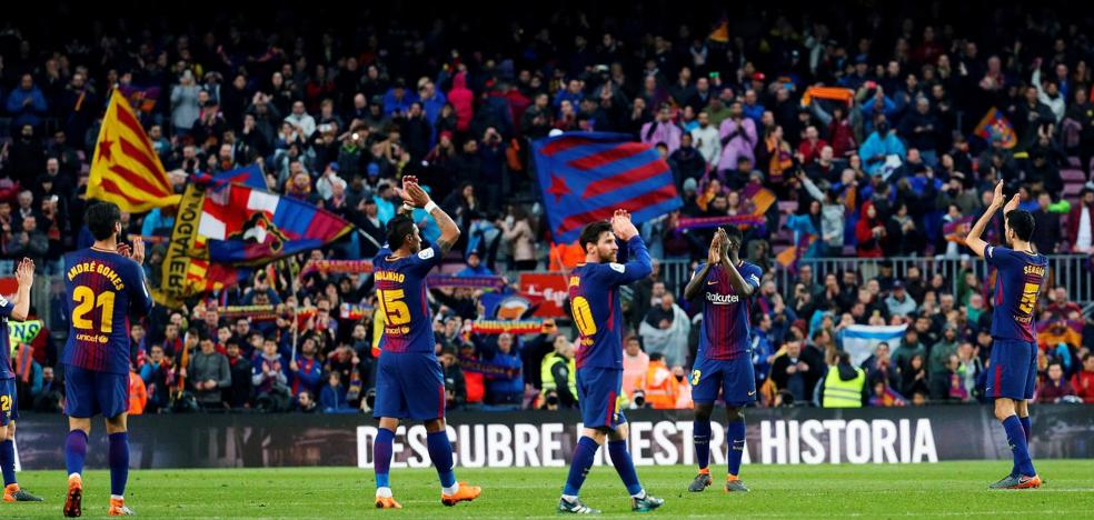 Menos Barça, más Messi