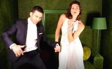 Silvestre y Muguruza bailan al mejor estilo Hollywood