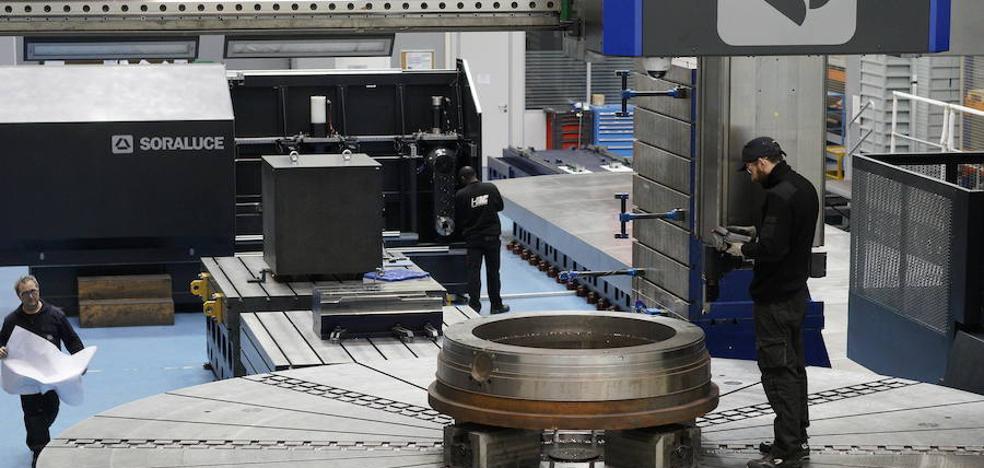 La actividad industrial vasca crece un 3,3% en enero