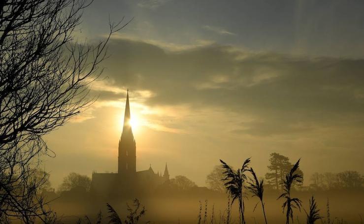 Un amanecer majestuoso