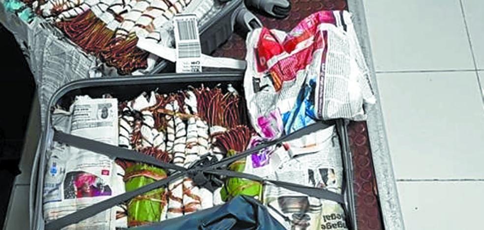 La droga 'khat' entra por el aeropuerto de Hondarribia