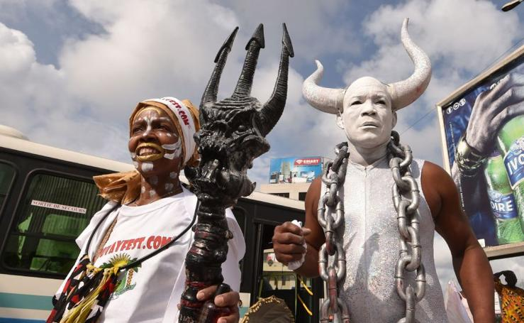 Arte africano y mucha tradición