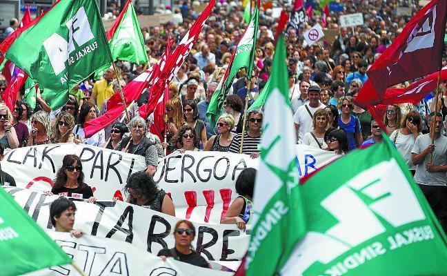 Las huelgas de esta semana en Educación llegan marcadas por la brecha entre sindicatos