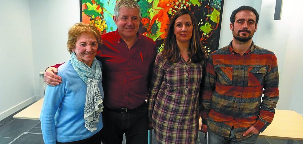 Las dos primeras familias refugiadas ya están haciendo vida en Zarautz