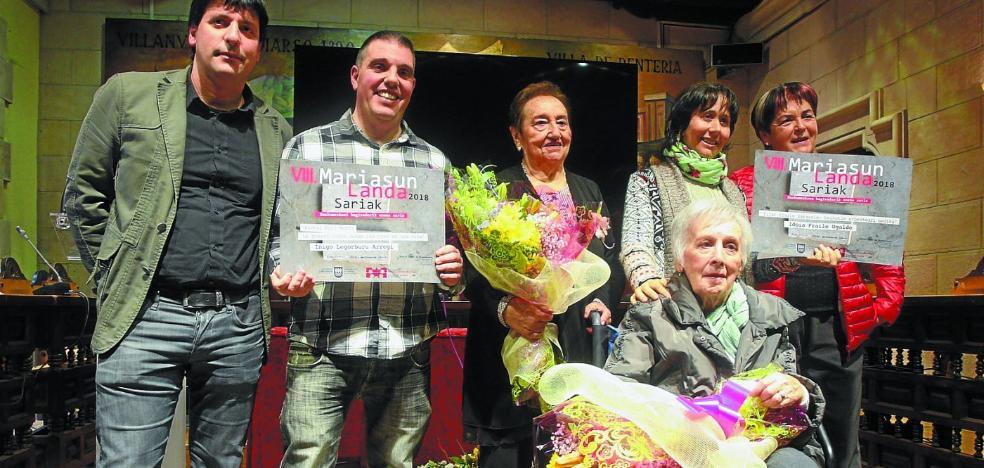Dos historias de mujeres en la Guerra Civil logran los premios Mariasun Landa