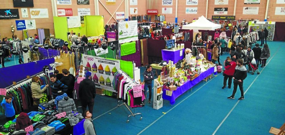 Primer día de la Feria del Stock de Baztan-Bidasoa