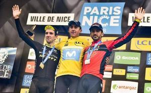 Gorka Izagirre acaba tercero en la París-Niza