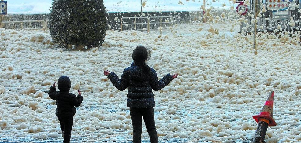 El fuerte viento genera incidencias en toda Gipuzkoa