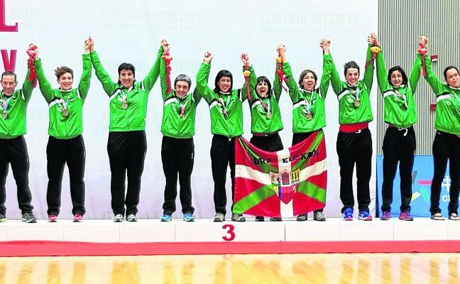Euskadi hace historia en el Mundial de sokatira