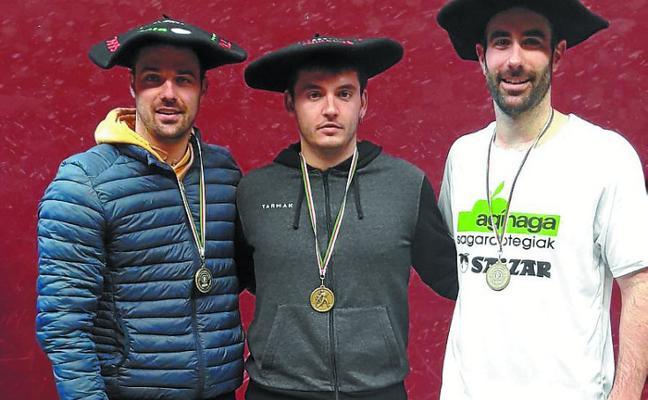 Txapelas del Campeonato de Euskal Herria para Ojuel y Aizpitarte