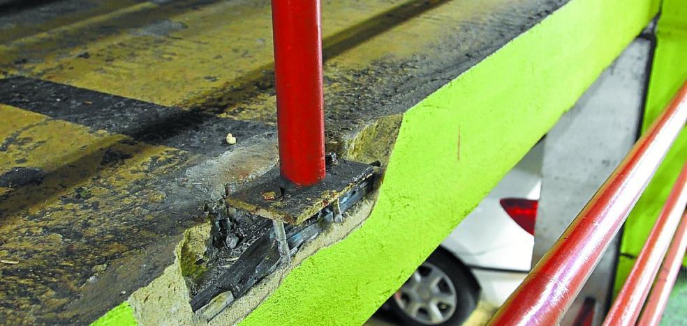 El Ayuntamiento plantea a los otros propietarios del parking del Txofre una obra de 5 millones