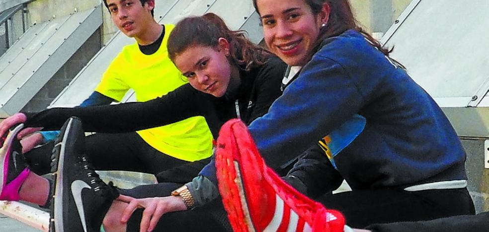 Nerea Sasiain, cuarta y récord vasco de 400 metros en el Campeonato de España sub18