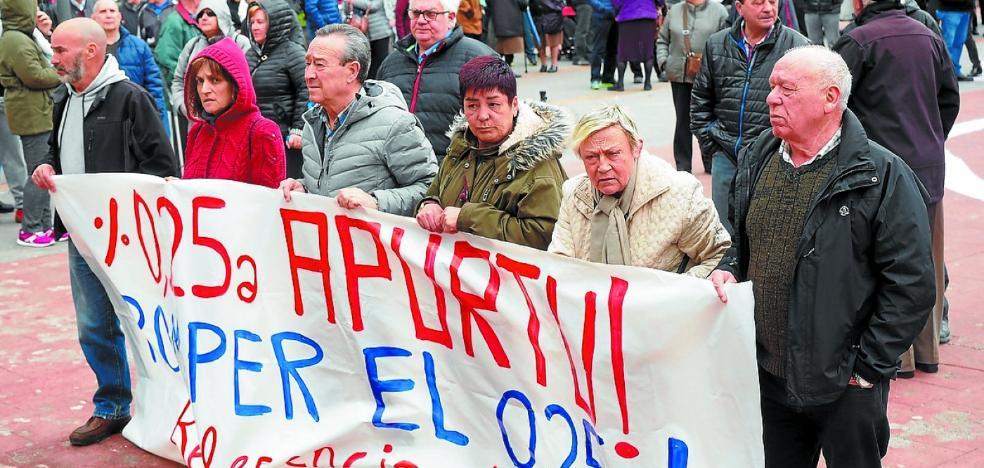 Los pensionistas invitan a los ayuntamientos a que «nos muestren su apoyo»