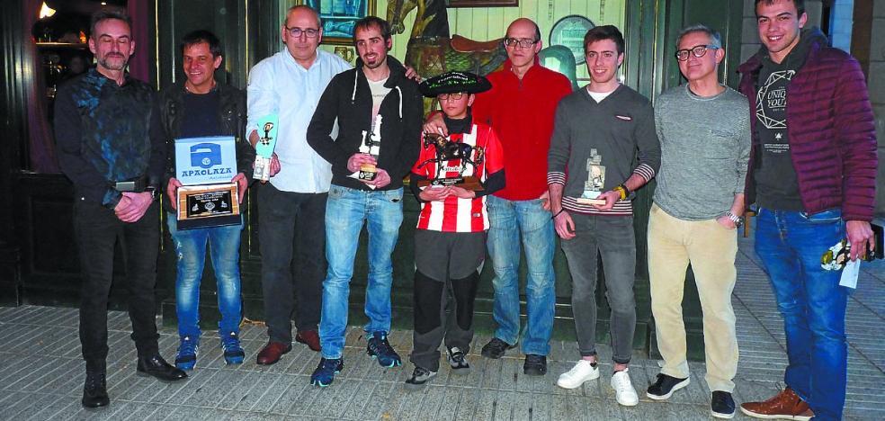 Manex Regillaga, campeón con solo doce años
