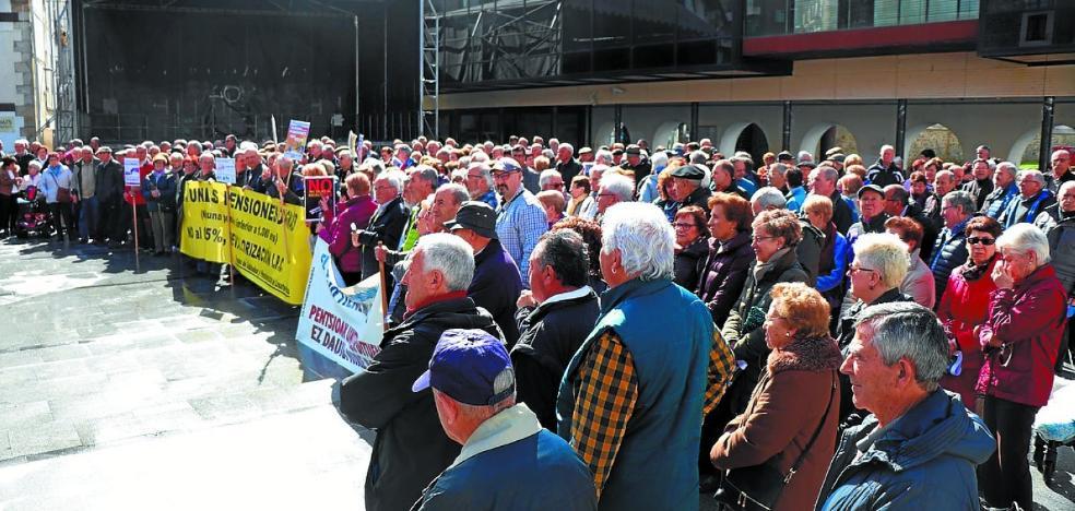 Los jubilados y pensionistas acuden hoy al Pleno municipal