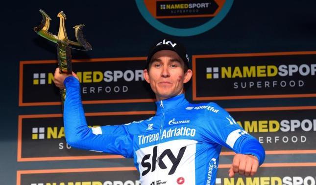 Kwiatkowski gana la Tirreno-Adriático