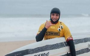 Natxo González, en el Big Wave Tour