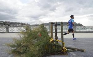 Activado para este miércoles el aviso amarillo por vientos de más de 100 km/hora en Euskadi