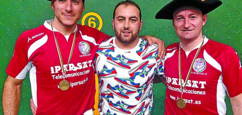 Rubén y Eskisabel, campeones sénior de división de honor