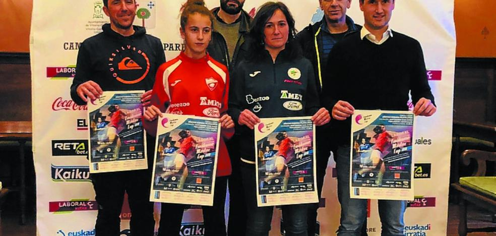Zubikoa acogerá las semifinales de la 'Emakume Master Cup' por parejas