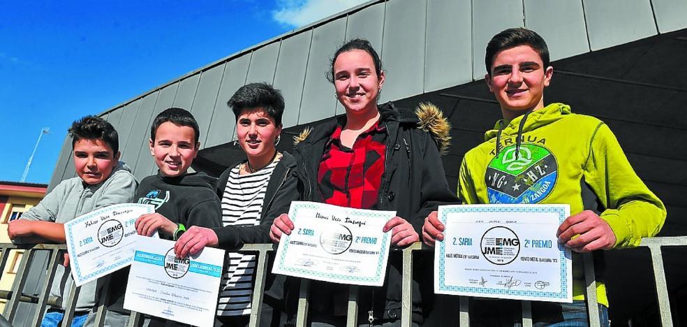 Premio para los jóvenes músicos en Bilbao