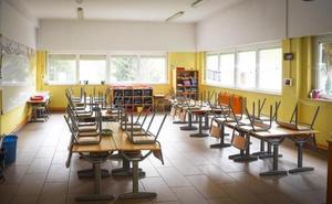 Desigual seguimiento de la huelga en la enseñanza pública vasca no universitaria